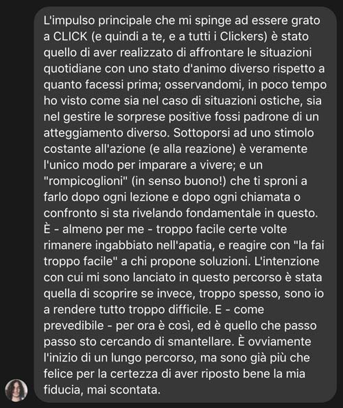 lorenzo recensione click