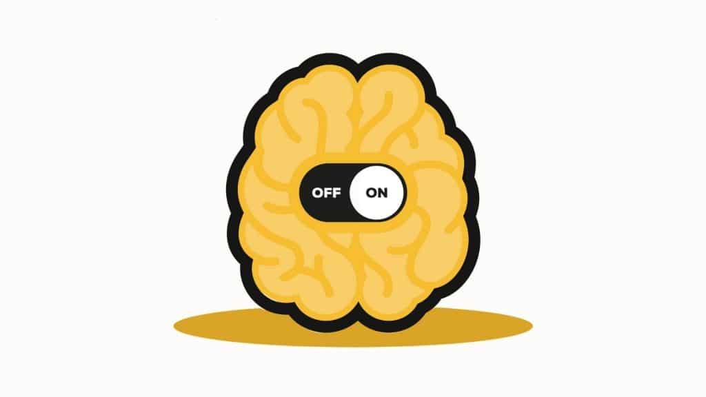 Come non avere ansia: cervello on-off